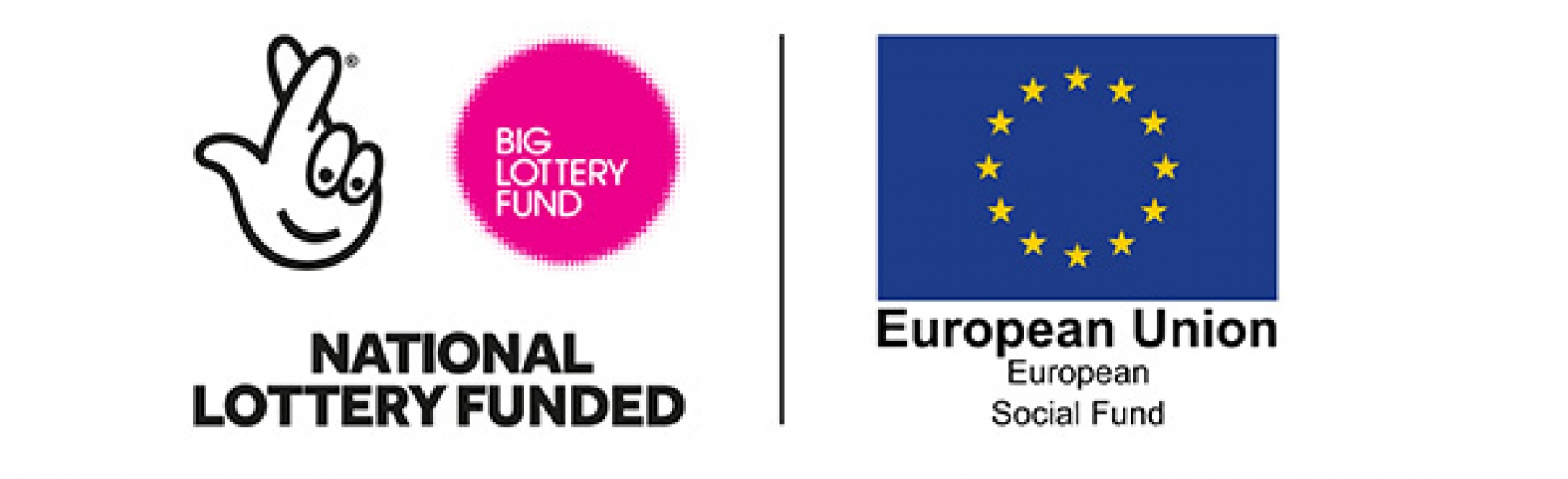 National Lottery Funded & European Social Fund